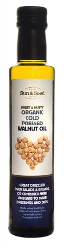 Sun & Seed Organic Pressed Walnut Seed Oil